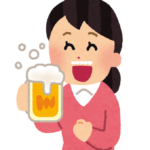 マグカップはビールの飲むときにも使う画像