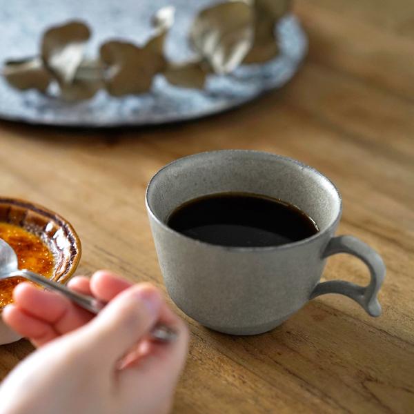 アセルマグカップを食卓で使った画像