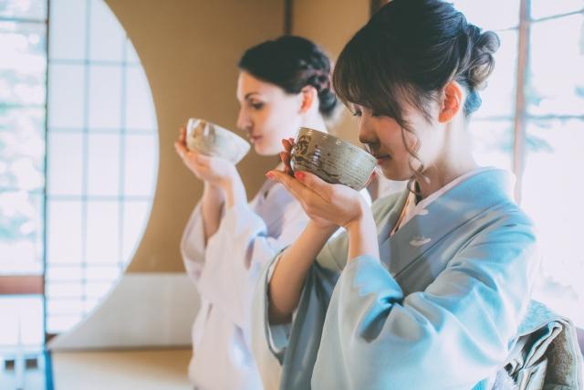 薄茶の茶会の画像