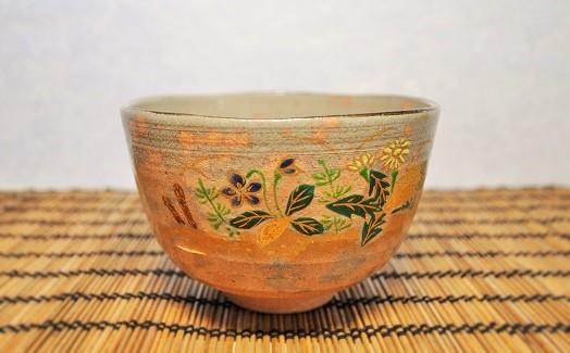 春のイメージの抹茶碗の画像
