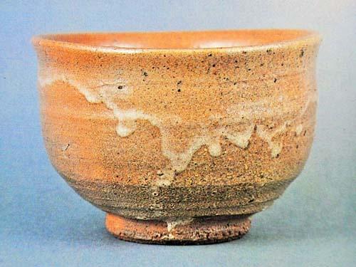 唐津焼の抹茶碗の一例の画像