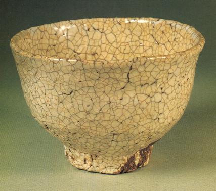 「七化け」の萩焼の抹茶碗の画像