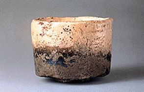 冬山イメージの抹茶碗の画像