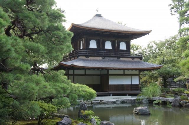 銀閣寺の外観の画像