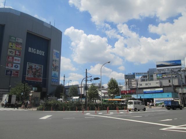 高田の馬場の駅前風景の画像