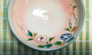 朝顔の夏茶碗の画像