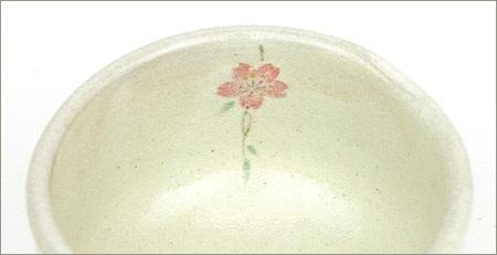 抹茶碗枝垂れ桜の内側の絵の画像