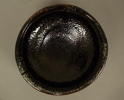 美濃焼抹茶碗の内側の画像