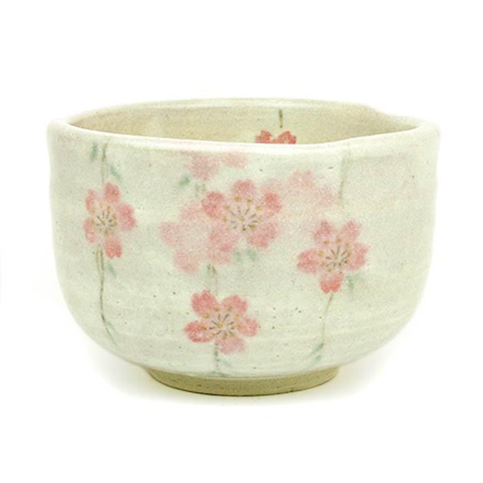 抹茶碗枝垂れ桜の正面の画像