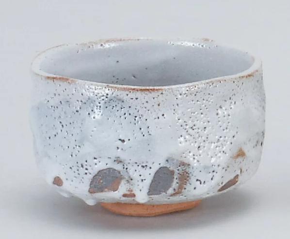 志野焼抹茶碗の画像