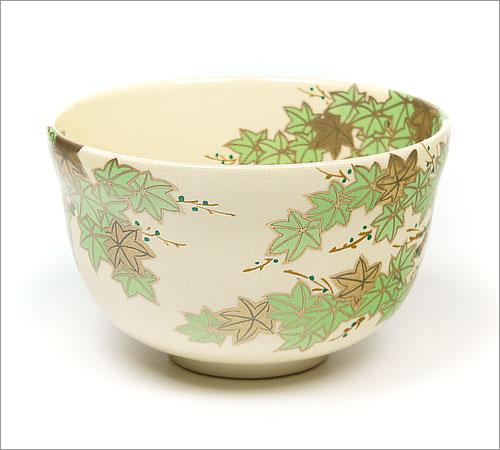 抹茶碗青楓の後ろ側の画像