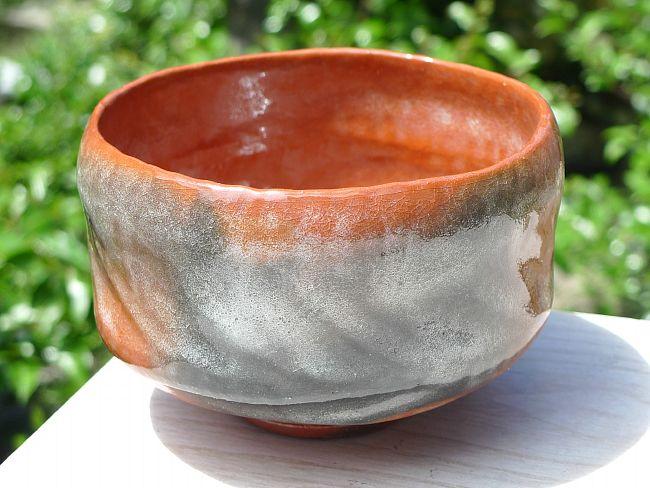 赤楽茶碗 松楽作の画像