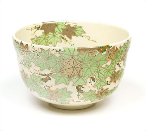 抹茶碗青楓の正面の画像