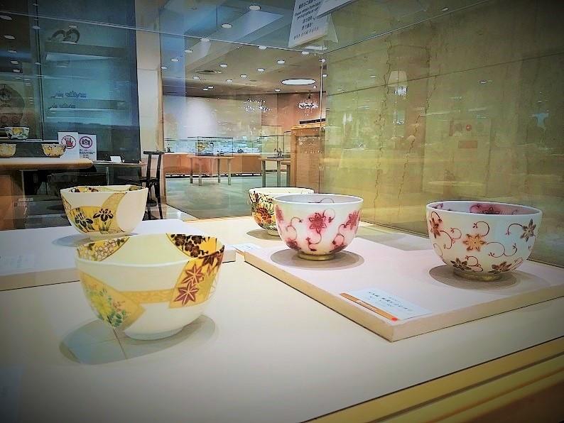 高島屋に出展した「京都はしもと製陶所」の品質の高い作品の画像