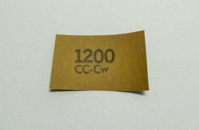 1200番の耐水ペーパーの画像