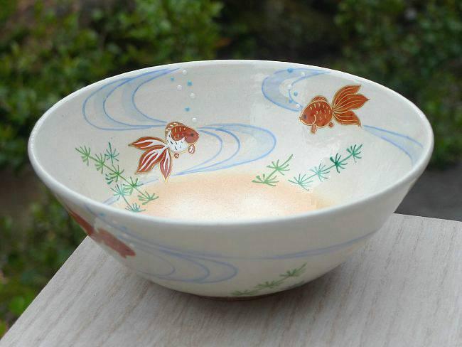 平茶碗金魚の画像