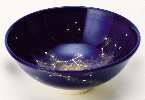 平茶碗「瑠璃釉」夏の星空の射手座版の画像