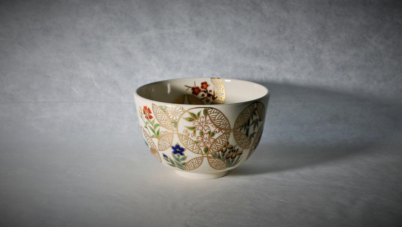 抹茶碗四季七宝つなぎのイメージ画像