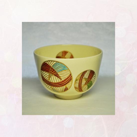 抹茶碗手毬のイメージ画像
