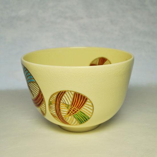 抹茶碗手まりの右側の絵の画像