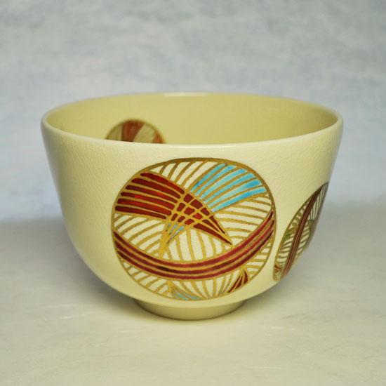 抹茶碗手まりの左側の絵の画像
