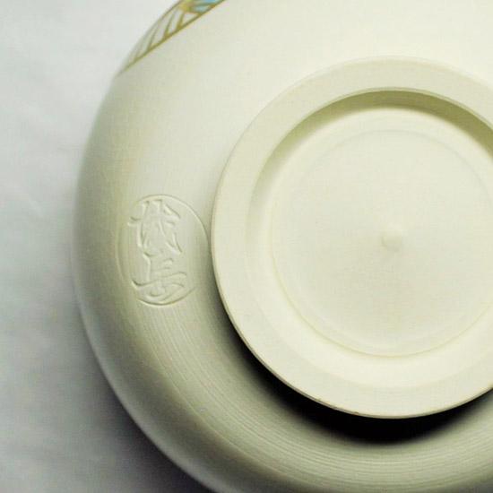 抹茶碗手まりの陶印の画像