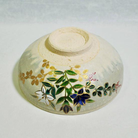 平茶碗桔梗の外側の絵の画像