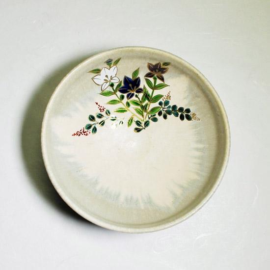 平茶碗桔梗を上から見た画像