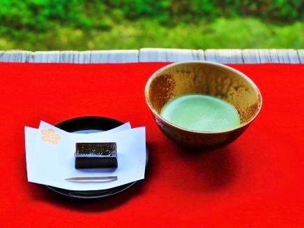 抹茶(薄茶)の一例の画像