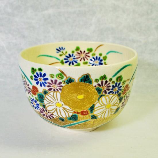 抹茶碗菊花のメイン画像