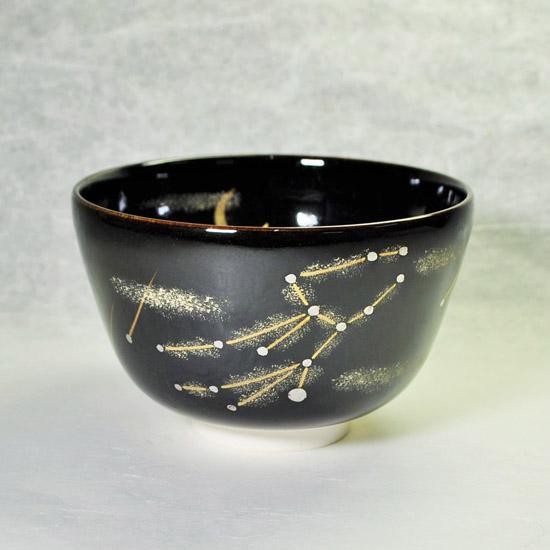 抹茶碗あなたの星座のおとめ座の絵の画像