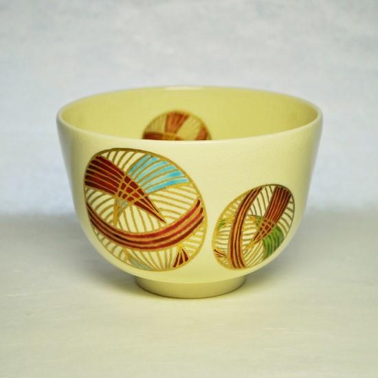 抹茶碗手まりの正面の画像