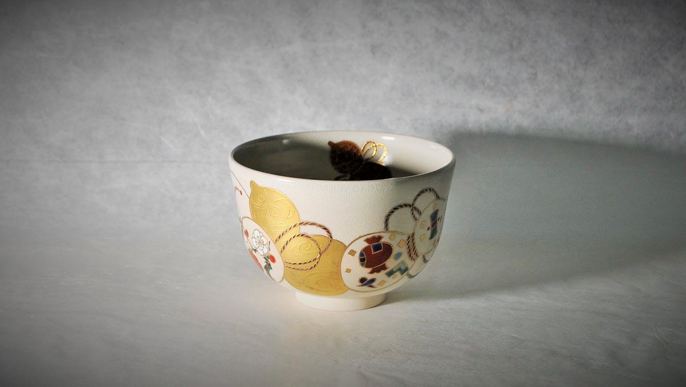 抹茶碗金彩六瓢のアイキャッチ画像