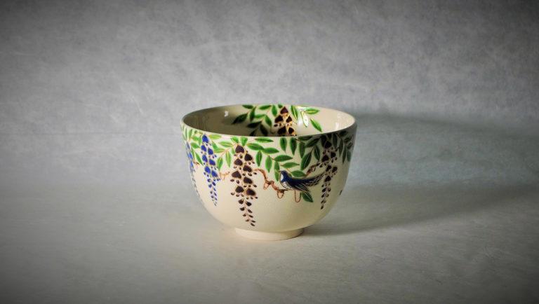 抹茶碗藤にほととぎすのアイキャッチ画像