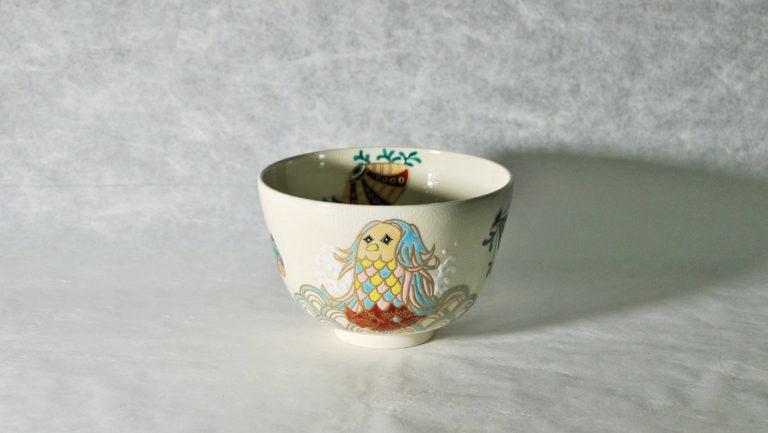 抹茶碗あまびえの正面アイキャッチ画像