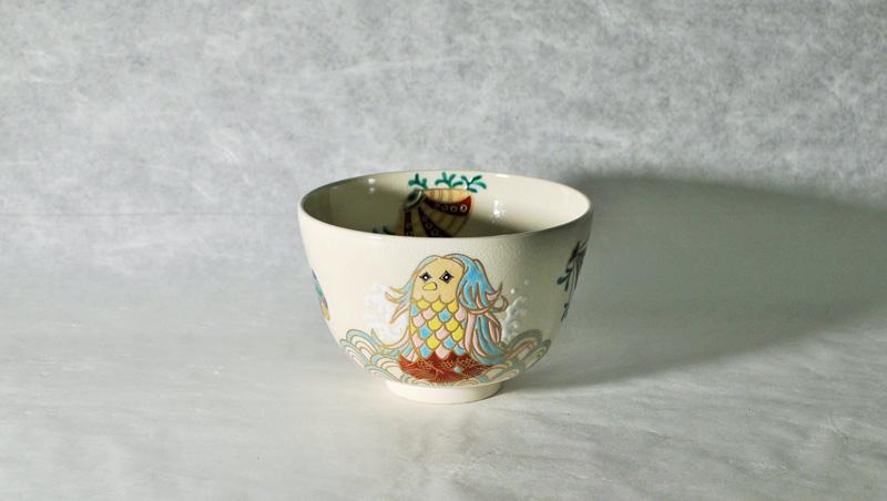 抹茶碗あまびえの正面イメージ画像