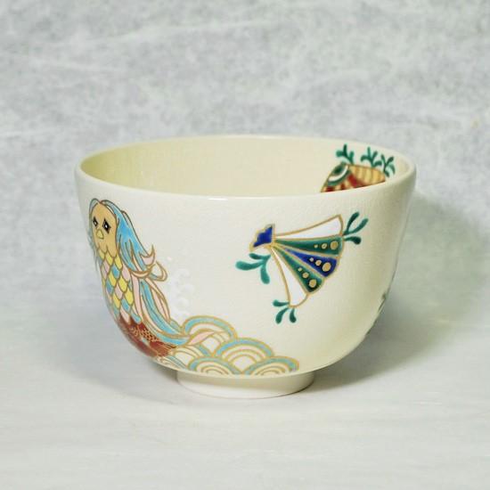 抹茶碗あまびえの右側の絵の画像
