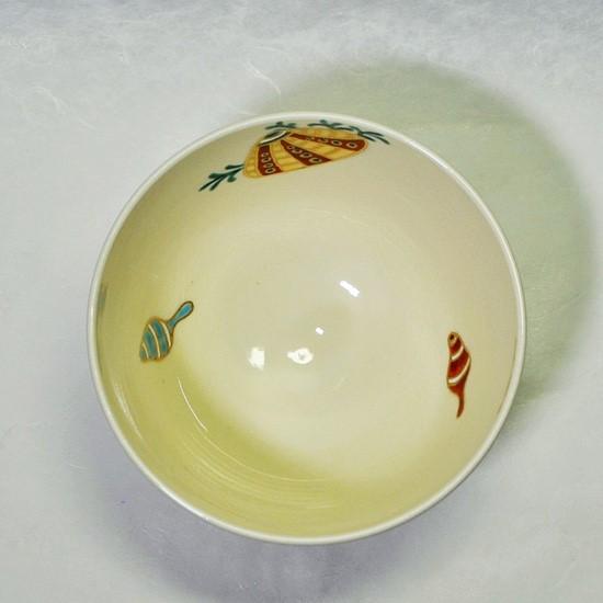 抹茶碗あまびえを上から見た画像
